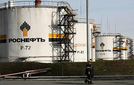 динамика акций Роснефть